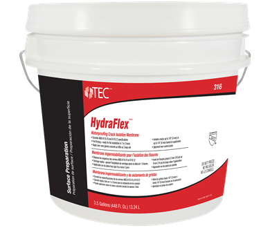 Hydraflex Waterproofing Crack Isolation Membrane Tec