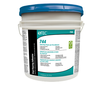 Solid Vinyl Plank And Tile Adhesive Tec